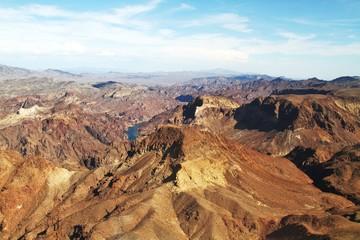 Hochplateau Grand Canyon - Colorado River - Westrand