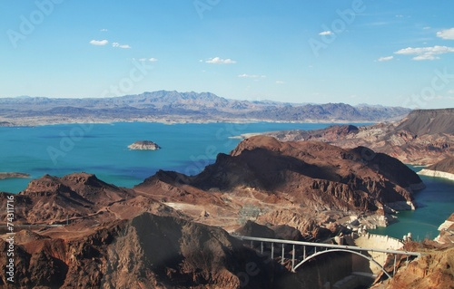 Foto op Plexiglas Canyon Hoover Damm - Grand Canyon - Arizona/Nevada