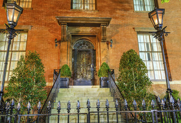 Montgomery Blair Lee House Building Second White House Night Was