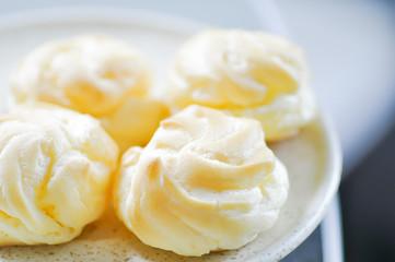 eclair ,choux cream,choux pastry