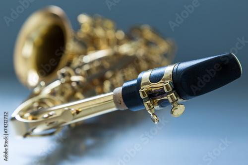 Leinwanddruck Bild Saxophone