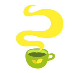 Cup of hot drink (coffee, tea etc)