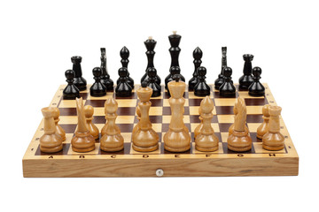 stock photo chess isolated on white