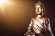 goldener Buddha im Licht - 74315169