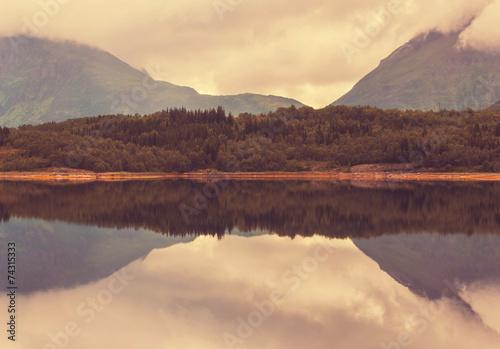 Lake in Norway - 74315333