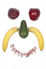 Fruitful winking smiley