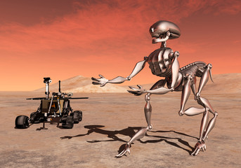 Discovery on Mars