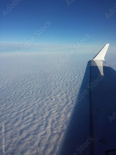 canvas print picture Over the clouds
