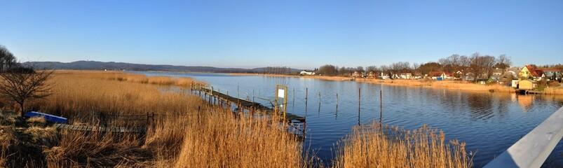 Hafen in Seedorf bei Sellin auf Rügen, Panoramafoto