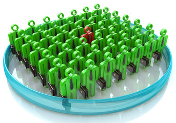 Stand Out From The Crowd - The concept of leadership in business