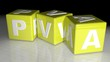 PVA Plastic material water soluble
