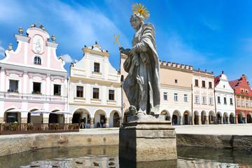 renaissance center (UNESCO) in Telc town,  Czech republic