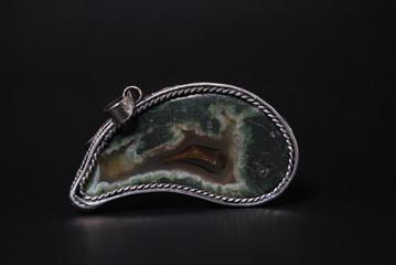 Agata Orpheus in argento