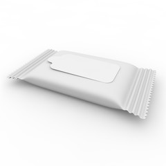 White package for napkins