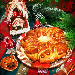 Christmas baked