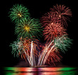 Fireworks for New Year Celebration