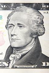 alexander hamilton dollar portrait