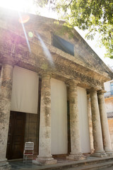 El Templete in Old Havana,Cuba