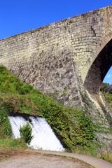 通潤橋の橋脚