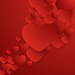 Valentines Day abstract background. EPS 10