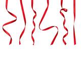 red ribbon bow celebration decoration