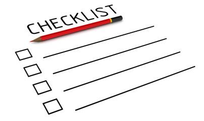 Чистый контрольный список (checklist)