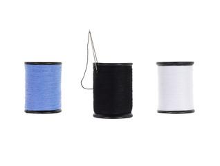 Three tube thread rolling