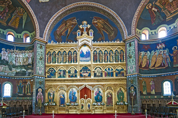 Church interior - iconostasis