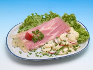 Sauerfleisch in Aspik