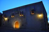 Atardecer en Cáceres, Palacio de Mayoralgo, nobleza, Extremadura, España
