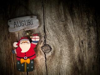 Auguri da Babbo Natale