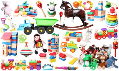 toys for children horizontal background