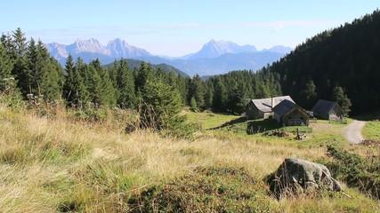 Wandern - 001 - Almhuette - Boesenstein