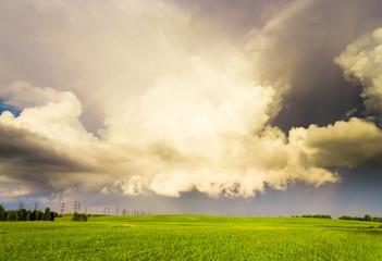 Tornado Coming Rain is Near