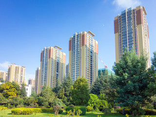 chinesische Wohnsiedlung