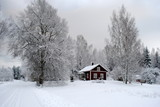 winter in schweden - 74331952