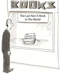 The Last Non E-Book in the World