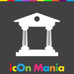Institution vector icon
