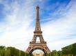 Fantastic Eiffel Tower in Paris