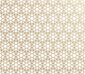 traditional geometric islamic ornament