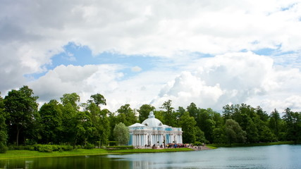 "Pavilion ""Grotto""  Pushkin (Tsarskoye Selo). Petersburg"