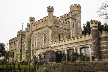 Whitstable Castle at Dusk