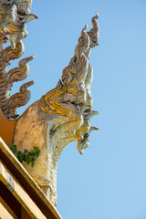 detail of Thai Temple