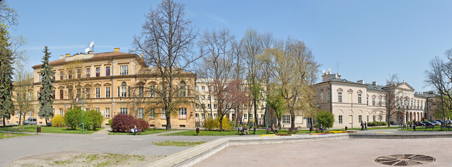 Litewski Square, Lublin -Stitched Panorama