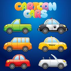 Cartoon Automobiles