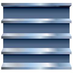 Vector Metal Shelves