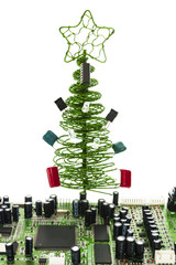 fir-tree for master on electric devices