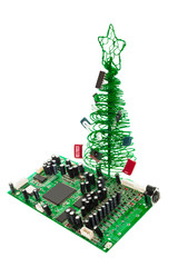 system board and fir-tree