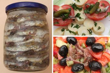 Anchois - Salade de tomates