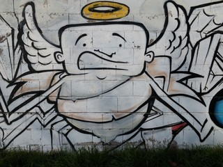 Graffiti de un ángel